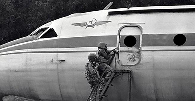 Освобождение заложников в Тбилиси в 1983 году.