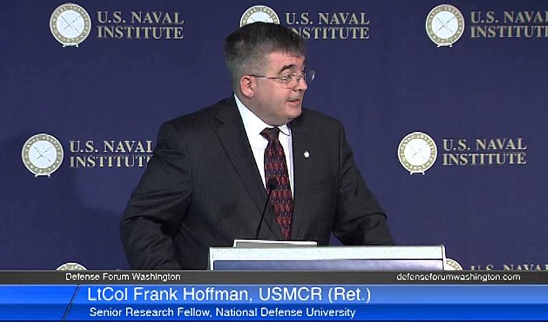 Одно из наиболее распространённых определений «гибридной войны» принадлежит американскому журналисту и военному эксперту Фрэнку Хоффману.