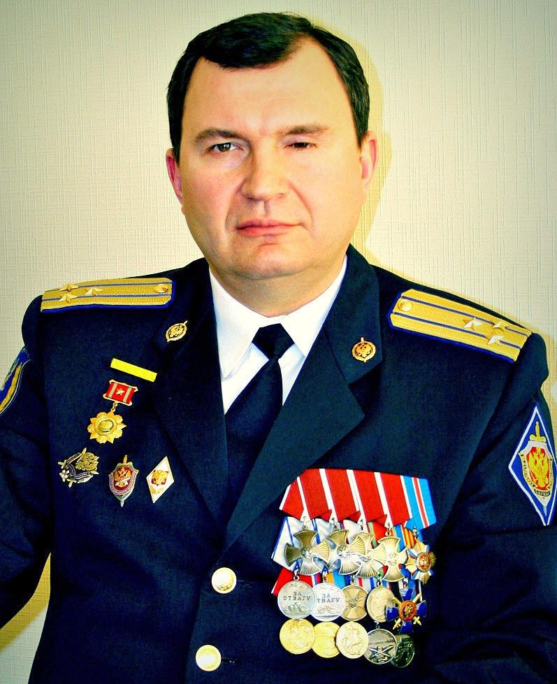 Полковник Сергей Милицкий.
