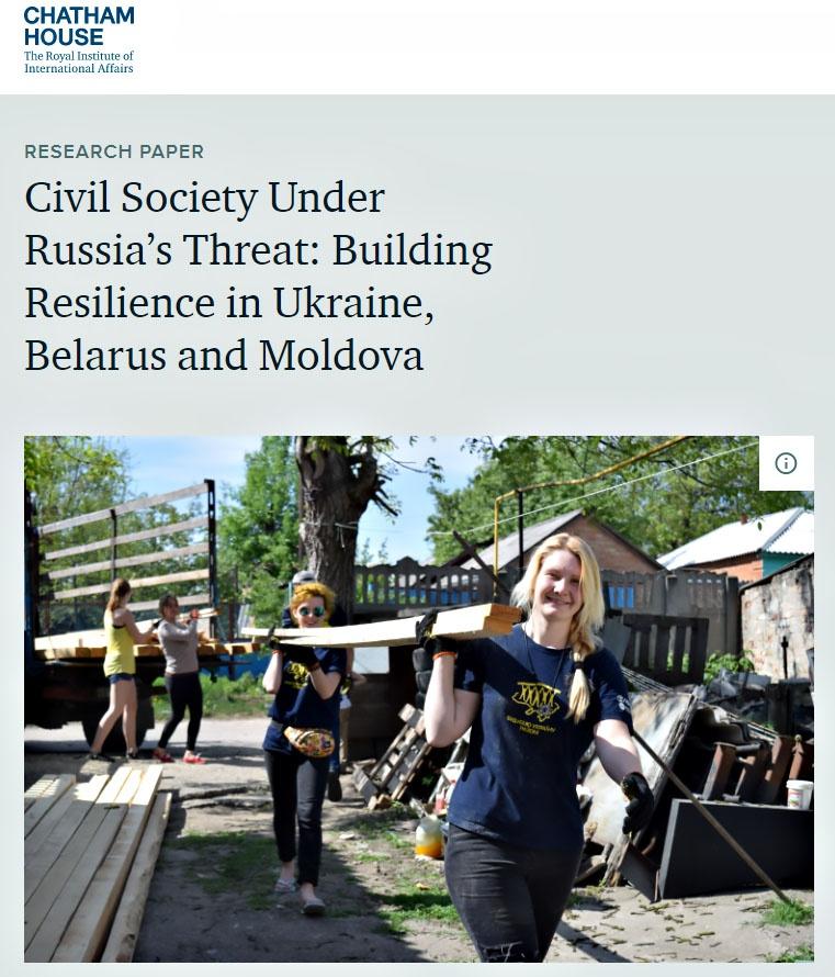 Доклад Королевского института международных отношений Chatham House: на направлении отрыва Белоруссии от России необходимо сделать ставку на «подготовку