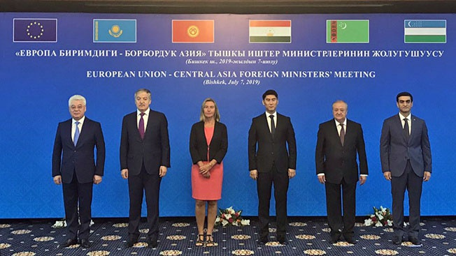 Еврокомиссар Федерика Могерини поставила главам МИД центральноазиатских республик задачу уменьшить влияние России в регионе.