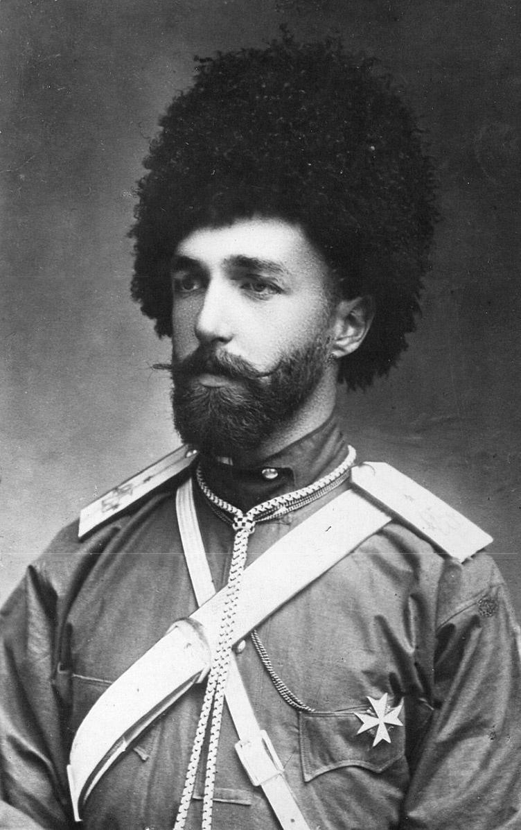 Генерал Борис Хрещатицкий, ставший лейтенантом в Иностранном Легионе.