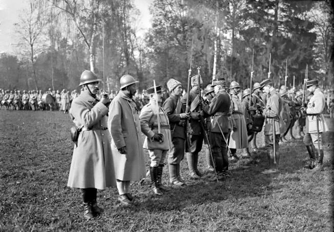 Российский Экспедиционный корпус во Франции.