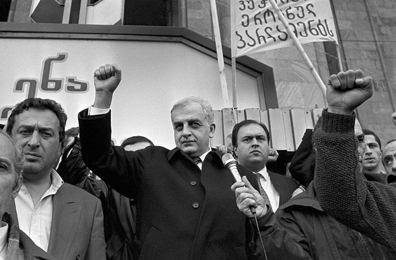 Полузабытый первый президент Грузии Звиад Гамсахурдиа.