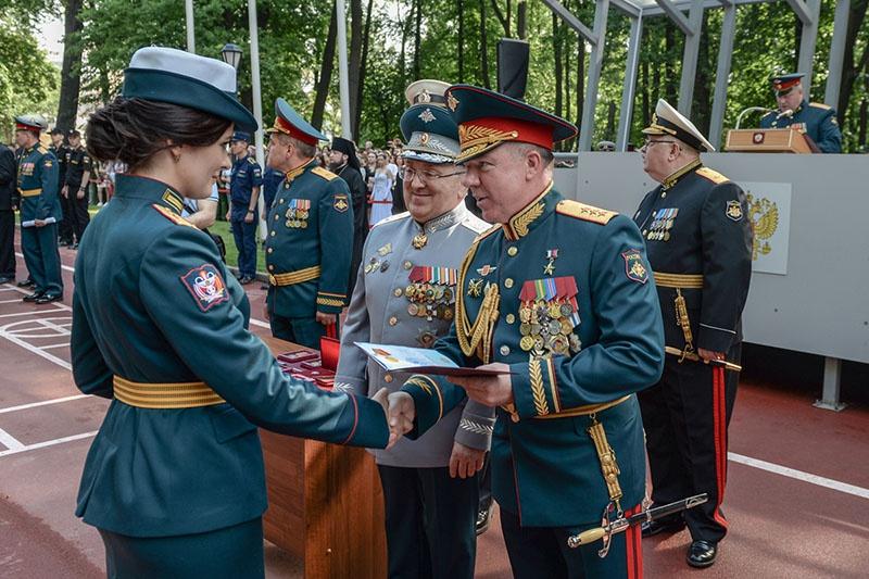 Военно-медицинская академия заняла первое место в конкурсе на «Лучшую военно-медицинскую организацию года».