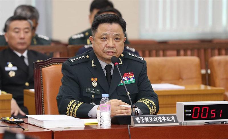 Штаб объединённого командования на период учений возглавляет председатель объединённого комитета начальников штабов вооружённых сил РК генерал Пак Хан Ги.