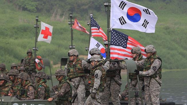 Вашингтон и Сеул «моделируют» войну на Корейском полуострове