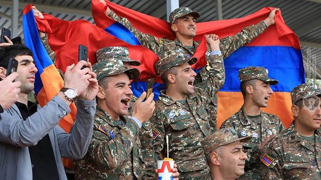 На международном конкурсе «Воин мира-2019» лидирует Армения