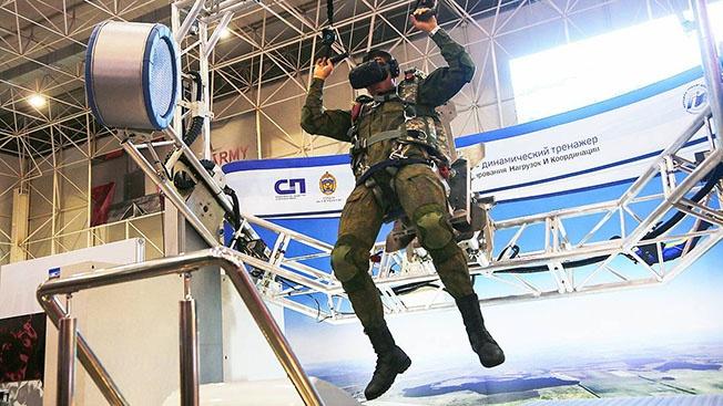 Перспективный образец уникального динамического тренажёра для подготовки парашютистов рекомендован к внедрению в войска.