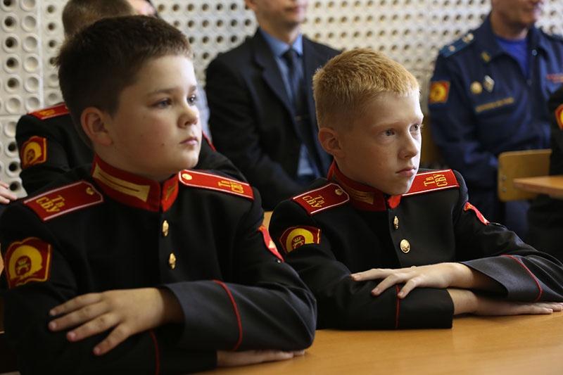Самые юные воспитанники Тверского СВУ.