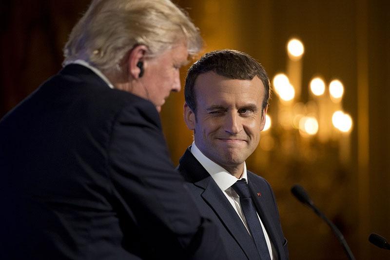 Трамп и Макрон решили, что России пора пообщаться с «Большой семёркой».