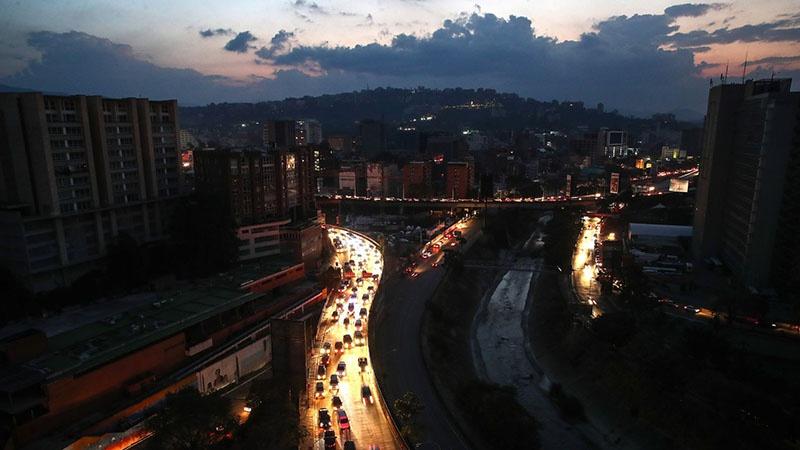 Каракас без света.
