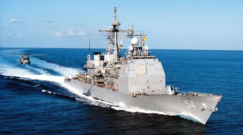 Крейсера УРО USS Antietam (CG-54).