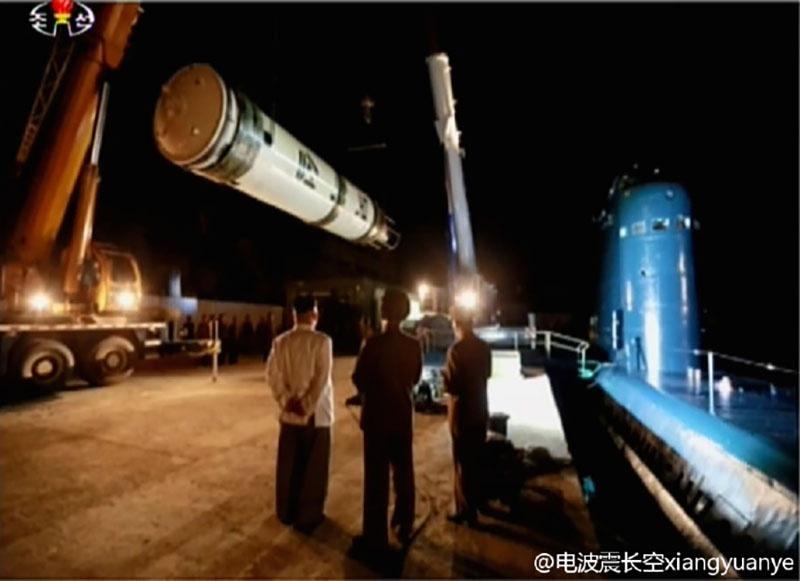 Испытания новой ракеты, которой было присвоено обозначение KN-11.