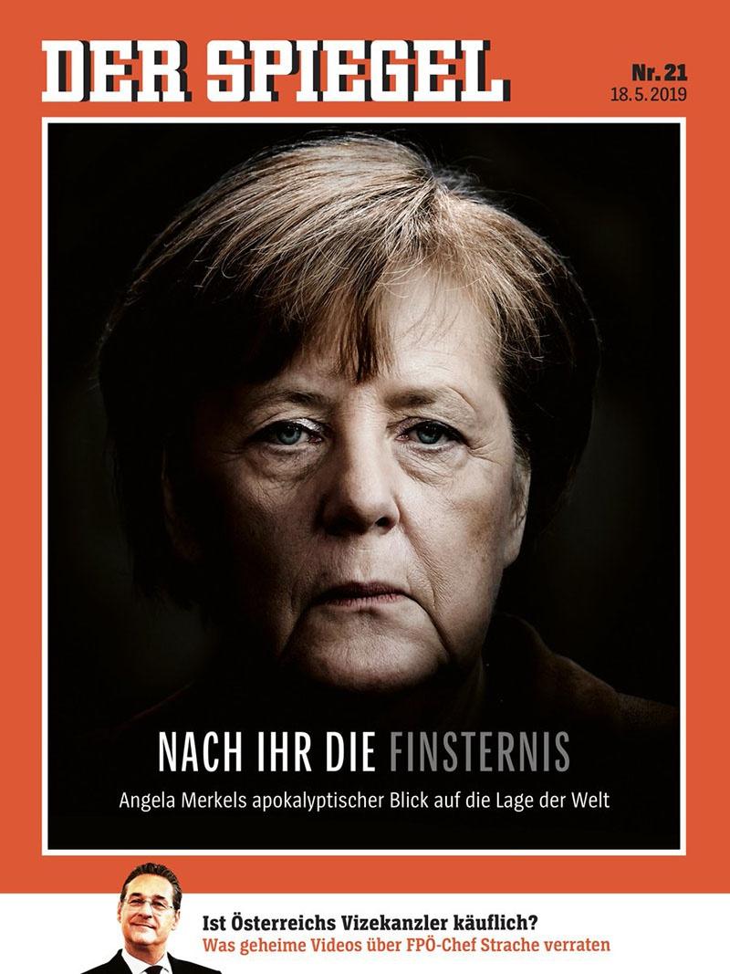 Майский номер немецкого журнала «Шпигель».