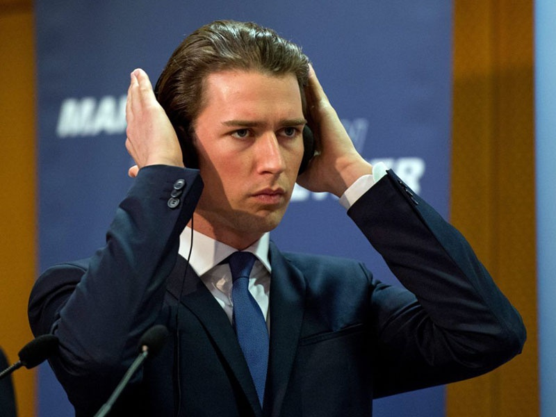 Себастьян Курц - бывший Федеральный канцлер Австрии.