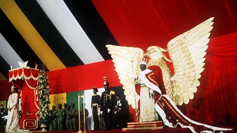 Коронация императора Центральноафриканской империи Жана-Беделя Бокассы I.