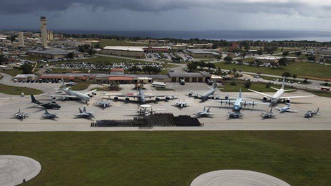 База ВВС «Андерсен» на острове Гуам