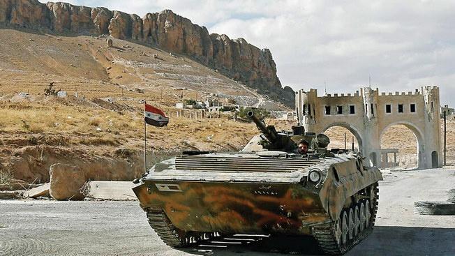 Сирийская версия БМП-1 или «закон неумолимого бутерброда»