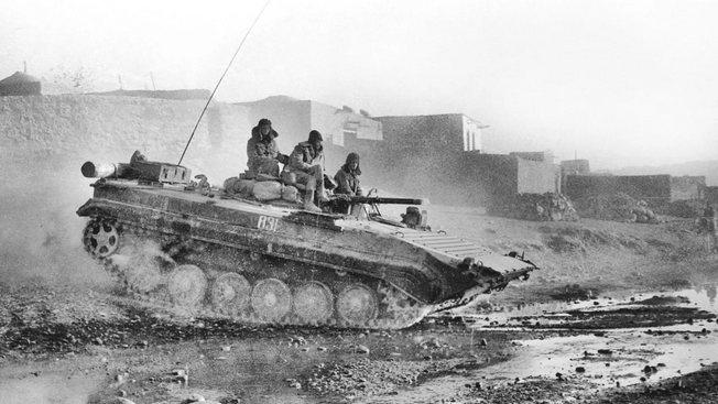 БМП-1 в Афганистане.