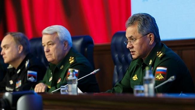 Министр обороны Шойгу подводит итоги СКШУ «Центр 2015».