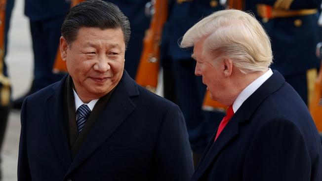 Си Цзиньпин и Дональд Трамп.