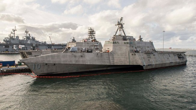 Фрегат «Габриэль Гиффордс» в начале сентября с.г. покинул военно-морскую базу Сан-Диего в Калифорнии и будет «со значительной дистанции создавать угрозу для китайских кораблей».