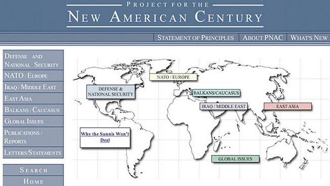 В 1997 году была создана влиятельная неоконсервативная организация «Проект за новый американский век» (Project for the New American Century (PNAC).