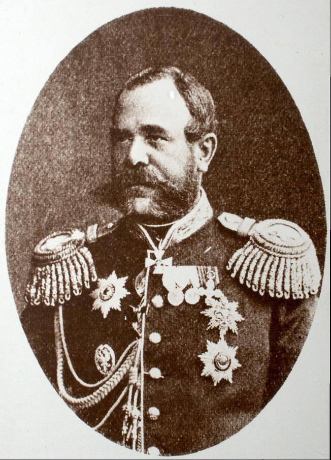 Обручев Николай Николаевич, русский военный деятель, генерал-адъютант.