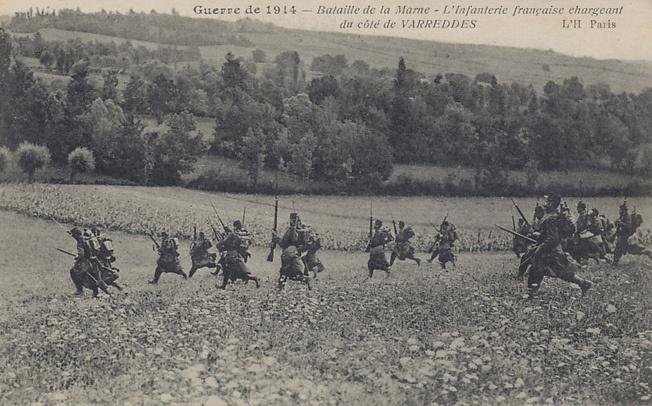 Битва при Марне, 1914 г.