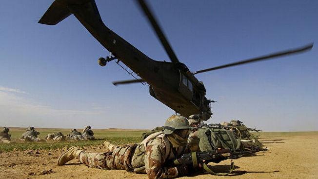 Американские военные в Афганистане.