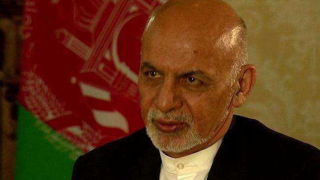 Президент Афганистана Ашраф Гани.