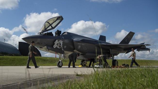 Американский истребитель F-35 A LightningII.