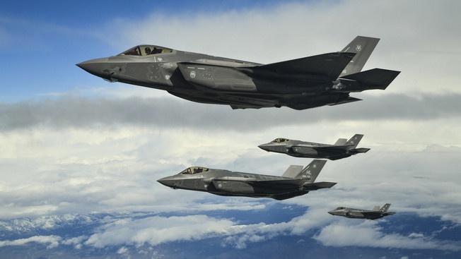 Истребитель V поколения F-35 A LightningII.