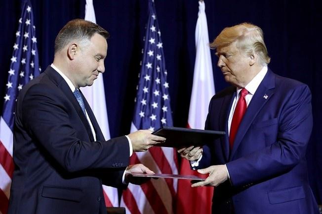 Дуда Трампа на «польском плацдарме»