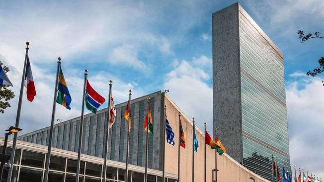 Штаб-квартира ООН в Нью-Йорке (США).