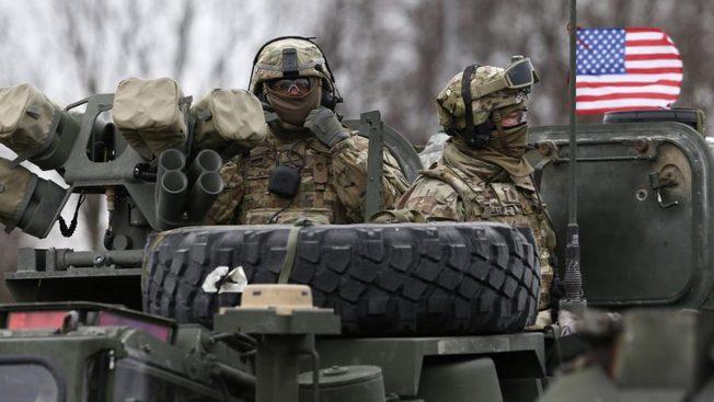Вооружение американского происхождения не только у подразделений США, но и у Евросоюза.