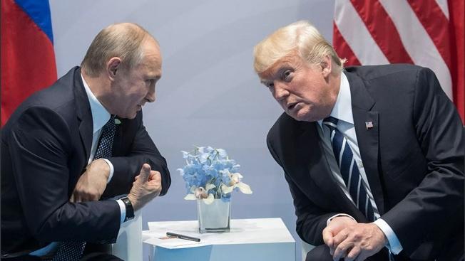 Первая встреча В. Путина и Д.Трампа состоялась на полях саммита «Большой двадцатки» в Гамбурге 07.07.2017 г.