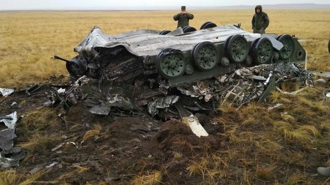 На учениях «Центр-2019» в ходе выброски воздушного десанта разбились две БМД.