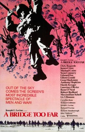 Фильм «Мост слишком далеко» о воздушно-десантной операции во Второй мировой войне, осуществлённой союзниками в 1944 году.