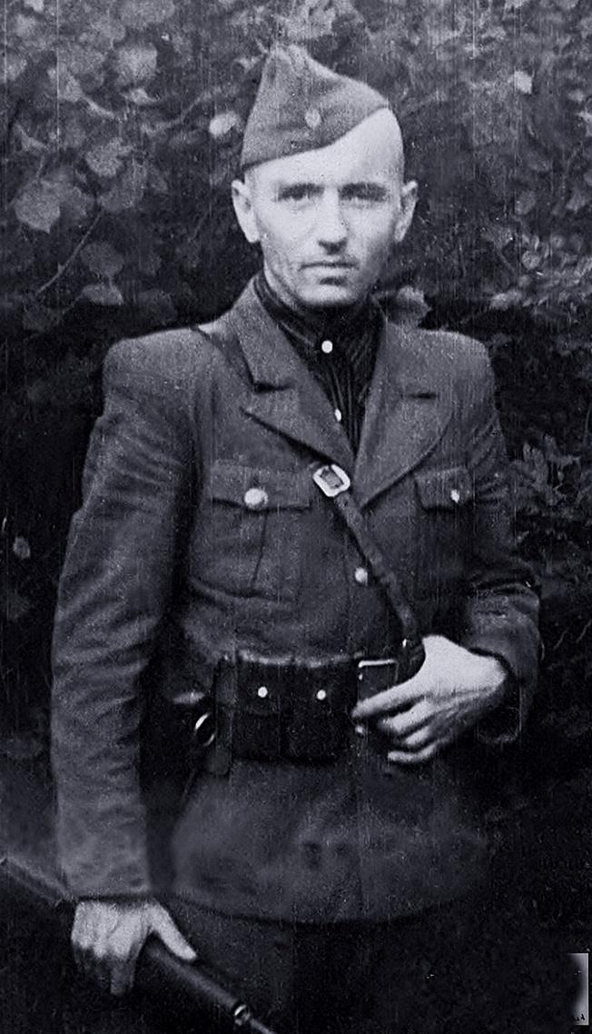 Главный командир УПА - генерал-хорунжий Василь Кук.