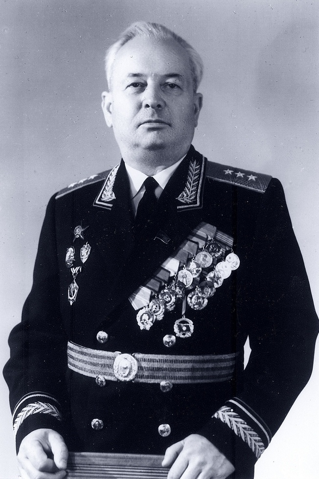 Виталий Федотович Никитченко - председатель КГБ Украины (1954-1970), член Коллегии КГБ при СМ СССР, начальник Высшей школы КГБ.