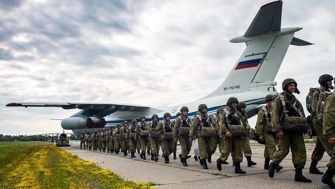 ВДВ - уникальный аргумент силы России