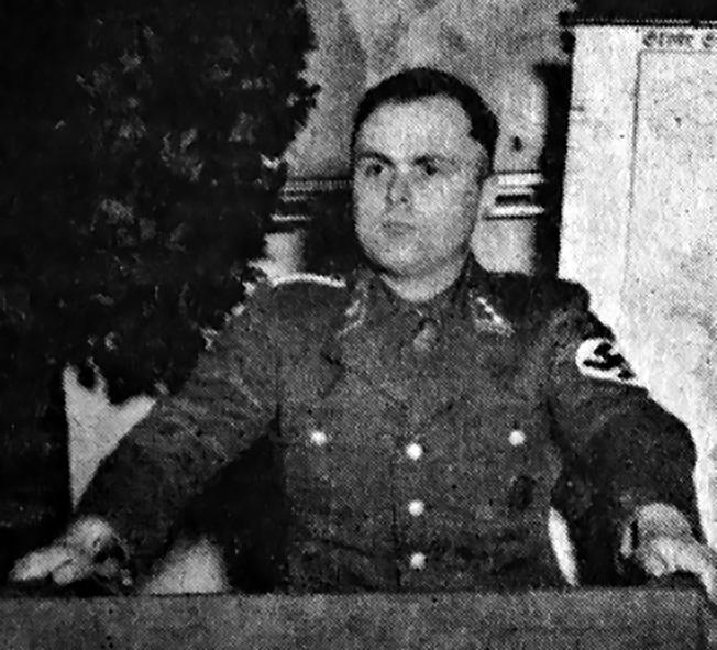 Оберфюрер СС Теодор Оберлендер