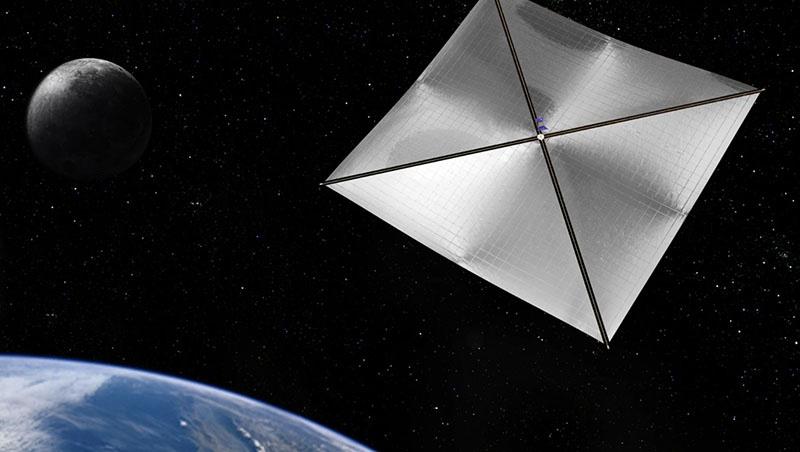 Power Star - создан по технологии космического паруса.