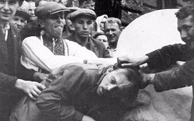 Львовский погром 1941 года.