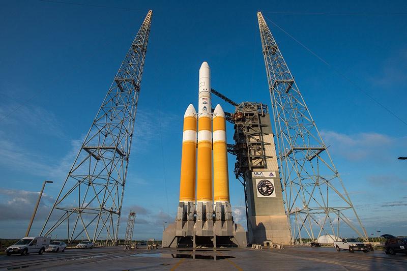 Ракета Delta IV.