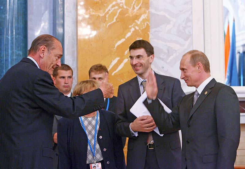 Жак Ширак был личным другом Владимира Путина.