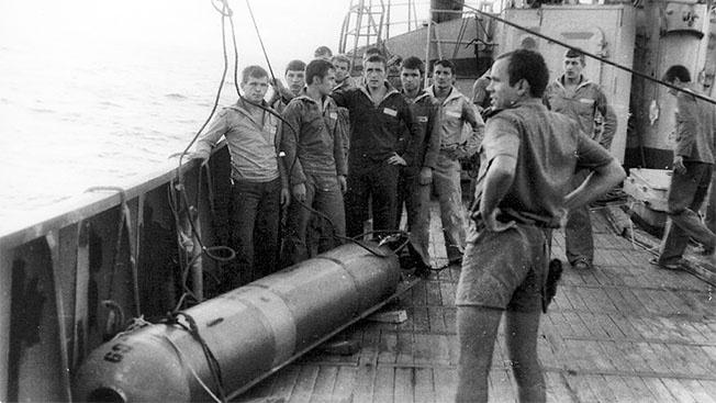 Как советские моряки торпеды у американцев похищали
