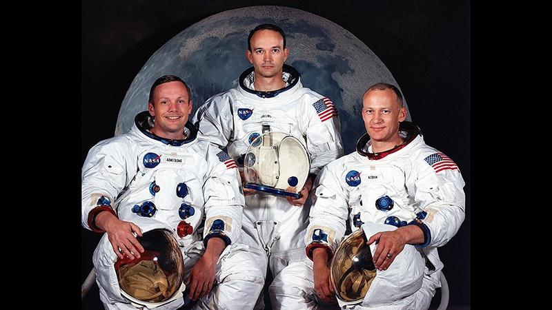 Американская космическая экспедиция «Аполлон-11» достигла Луны 20 июля 1969 г.